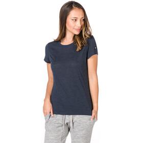 super.natural Essential I.D. Camiseta Mujer, navy blazer melange/navy blazer